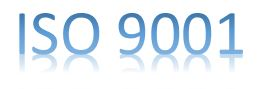 Certificado ISO 9001 Español